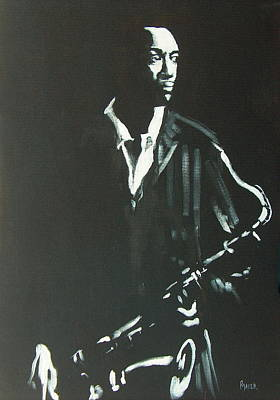 Painting - Coltrane by Pete Maier