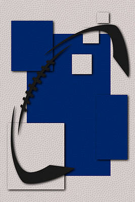 Football Photograph - Colts Football Art by Joe Hamilton