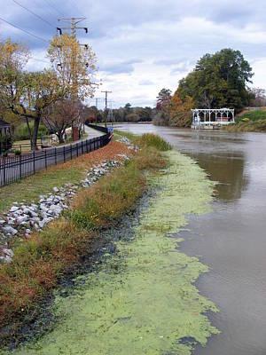 Saluda Photograph - Columbia Canal In Fall by Elena Tudor