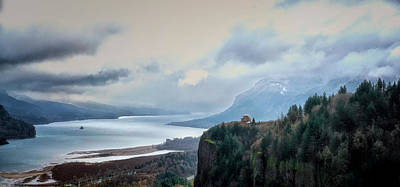 Photograph - Columbia Gorge by Betty Depee