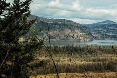 Photograph - Columbia Gorge View From The Trail by Belinda Greb