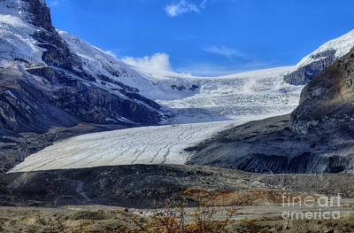 Columbia Icefield Glacier Hwy 93 Icefields Parkway Jasper National Park, Alberta Canada Art Print