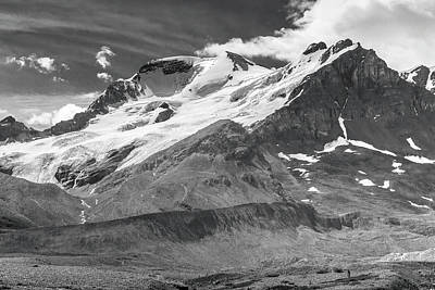 Photograph - Columbia Icefield 2 by Mark Mille
