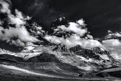 Photograph - Columbia Icefield by Wayne Sherriff