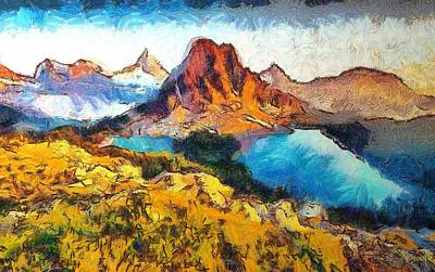 Columbia Lake Reverie Art Print by Mario Carini