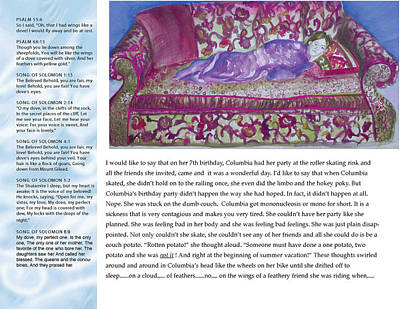 Digital Art - Columbia Little Dove Page 2 by Anne Cameron Cutri