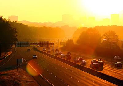 Photograph - Columbia Morning 1 by Joseph C Hinson Photography