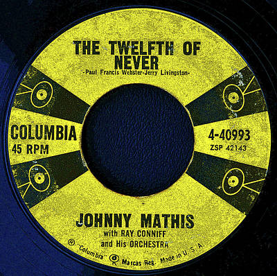 Digital Art - Columbia Records And J.mathis by David Lee Thompson