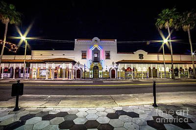 Photograph - Columbia Restaurant Founded In 1808tampa Florida by Rene Triay Photography