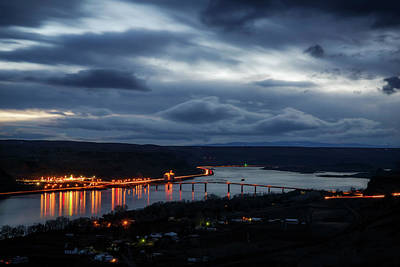 Photograph - Columbia River by Cat Connor