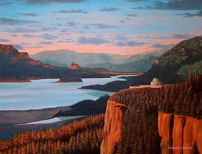 Painting - Columbia River by Douglas Castleman