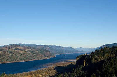 Scenic Photograph - Vista House In The Columbia River Gorge National Scenic Area by James Little