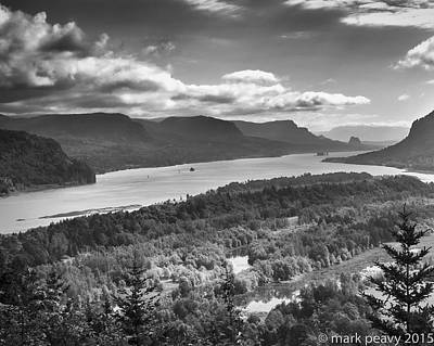 Photograph - Columbia River Gourge by Mark Peavy