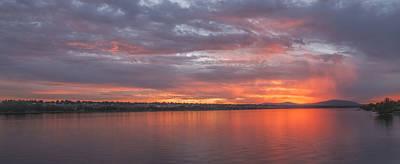Photograph - Columbia River Sunset by Loree Johnson