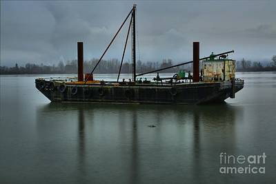 Photograph - Columbia River Tug by Adam Jewell