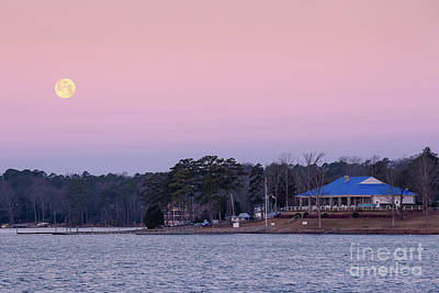 Photograph - Columbia Sailing Club by Charles Hite