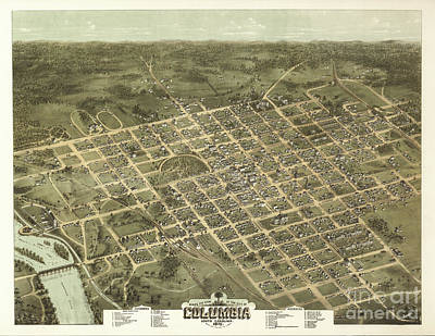 Photograph - Columbia Sc 1872 by Dale Powell