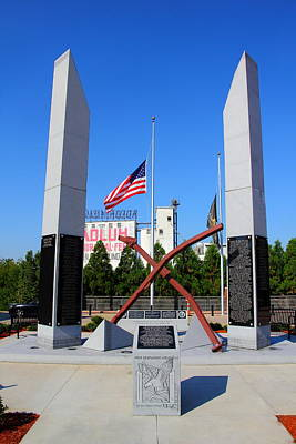 Photograph - Columbia, Sc First Responders Memorial by Joseph C Hinson Photography