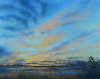 Pastel - Columbia Sky I by Marlene Kingman