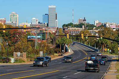Photograph - Columbia Skyline 2009 Color by Joseph C Hinson Photography