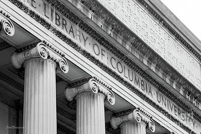 Photograph - Columbia University Low Memorial Library by University Icons