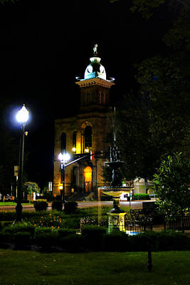 Columbiana Cty Courthouse Art Print by Michelle Joseph-Long