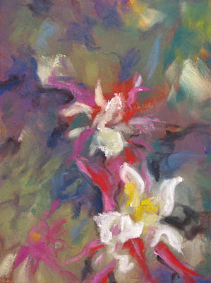 Pastel - Columbine Flair by Carole Haslock