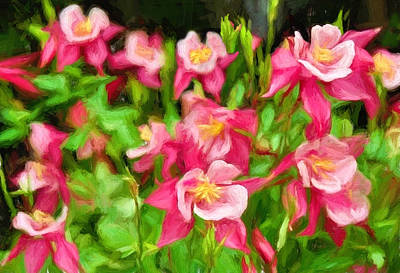 Painting - Columbine In The Quabbin by Mitchell R Grosky