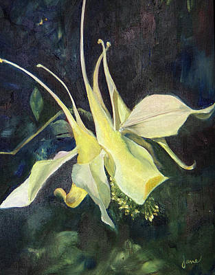 Painting - Columbine by Nila Jane Autry