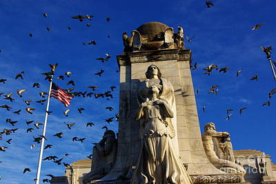 Photograph - Columbus At Union Station by John S