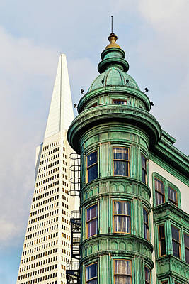 Photograph - Columbus Avenue - San Francisco, California by Melanie Alexandra Price