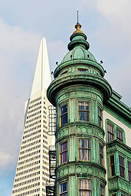 Photograph - Columbus Avenue - San Francisco, California by Melanie Alexandra Price