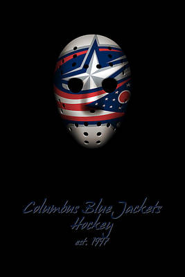 Photograph - Columbus Blue Jackets Established by Joe Hamilton