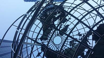 Photograph - Columbus Circle Globe by Rob Hans