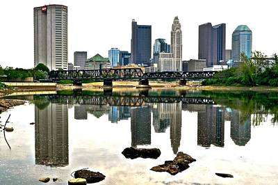 Photograph - Columbus Daylight Reflection by Frozen in Time Fine Art Photography