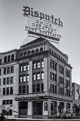 Photograph - Columbus Dispatch Building II by Clarence Holmes