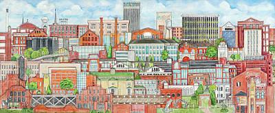 Columbus Georgia Art Print by Bobby Jones