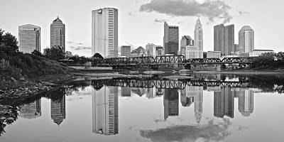 Photograph - Columbus Long View 2017 by Frozen in Time Fine Art Photography