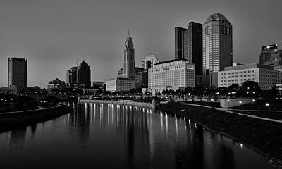 Photograph - Columbus Ohio At Dusk by L O C