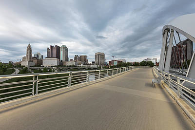 Photograph - Columbus Ohio Bridge  by John McGraw