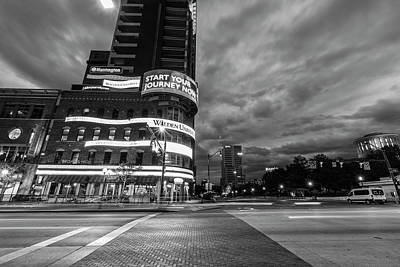 Photograph - Columbus Ohio Downtown Black And White  by John McGraw