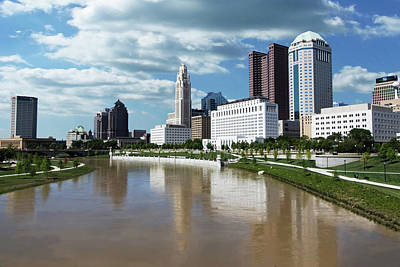 Photograph - Columbus Ohio Skyline by Ron Grafe