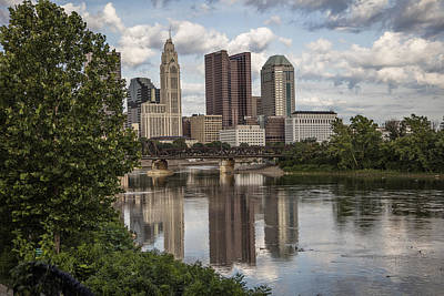 Photograph - Columbus Skyline by John McGraw