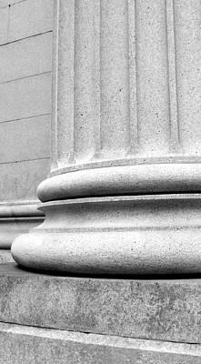 Photograph - Column Base  by Douglas Pike