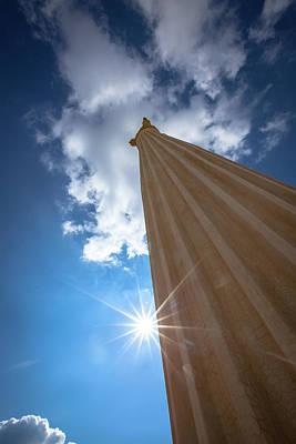 Photograph - Column To Sky by Ibrahim Azaga