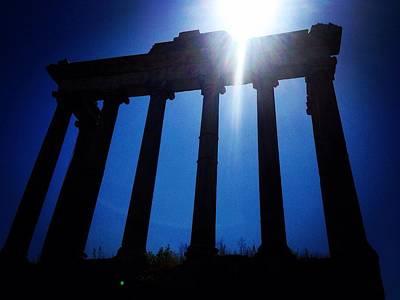 Photograph - Columns by Angela Rath
