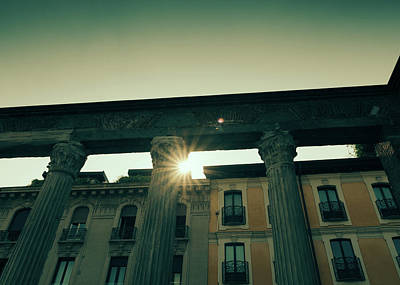 Photograph - Columns At Colonne Di San Lorenzo, Milan, Italy by Alexandre Rotenberg