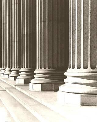Columns Art Print by Daniel Napoli