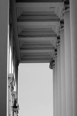 Photograph - Columns by David Weeks