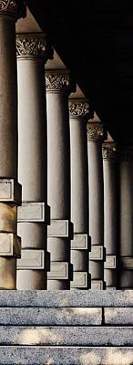 Photograph - Columns Early Morning by Brian Sereda